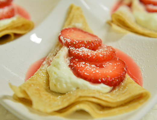 Easy Summer Crepes | What's Cooking at Melissa's